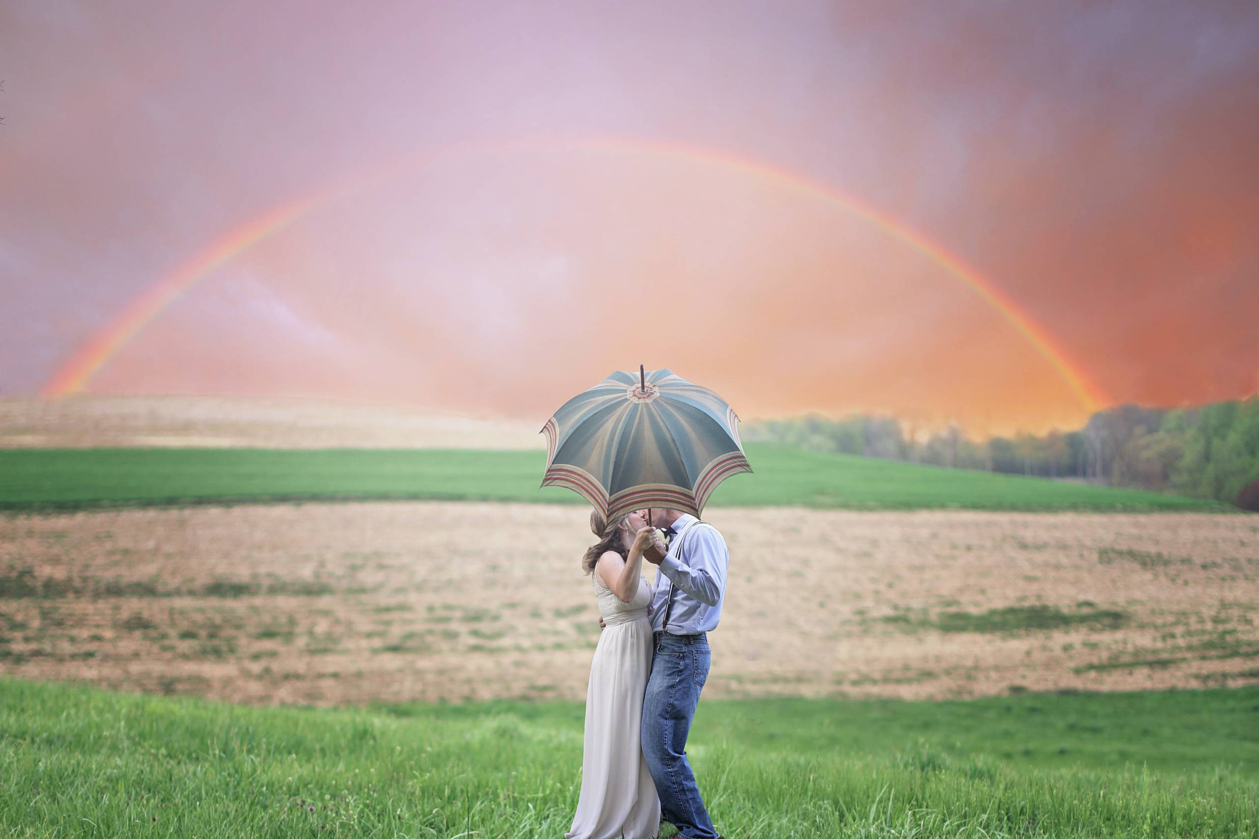 If You Want To see The Rainbow, You Must Endure the Rain.